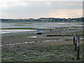 TM2433 : Shotley Gate foreshore by Roger Jones