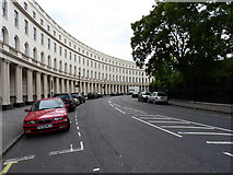 TQ2882 : The western 'arm' of Park Crescent by Richard Law