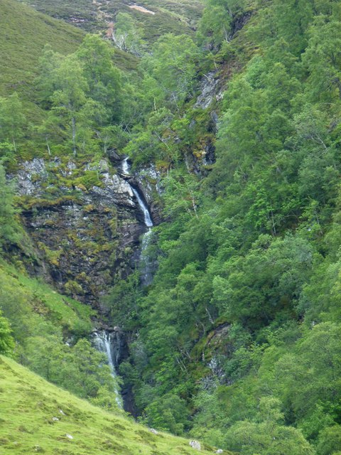 Waterfall in Glen Tilt