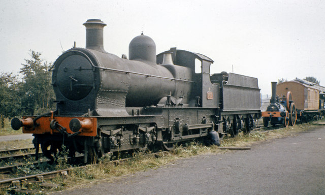 'Dukedog' No. 9017 at Sheffield Park, Bluebell Railway