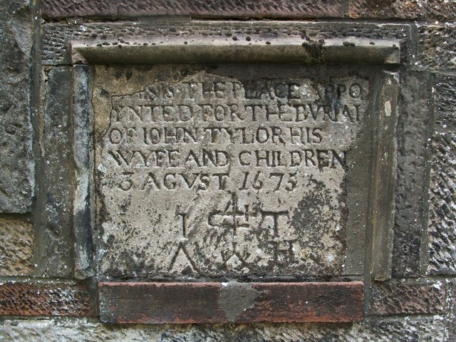 The gravestone of John Taylor