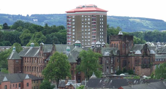 Former Alexandra Hospital building
