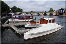 SU7682 : Henley Bridge by Philip Halling