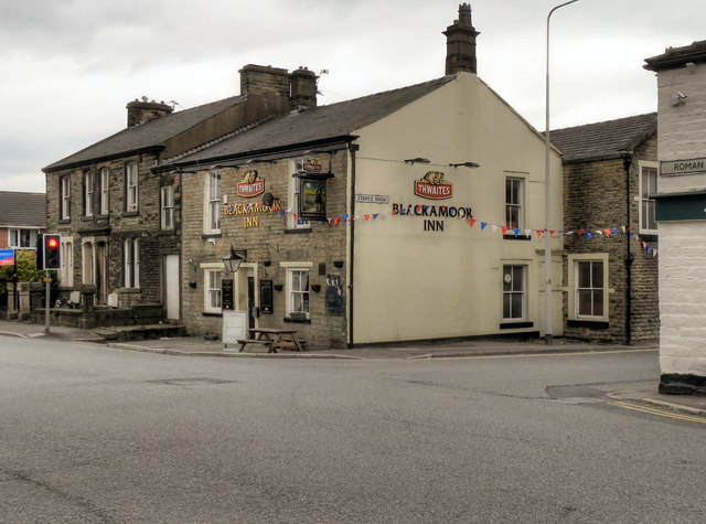 Blackamoor Inn, Roman Road
