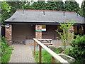 SK3550 : Caravan Club site The Firs Belper information room by Paul Shreeve