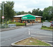 ST2995 : Pets at Home store, Cwmbran Retail Park by Jaggery