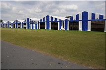 SU7682 : Marquees for Henley Regatta by Philip Halling