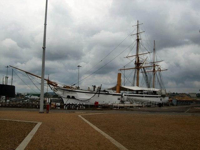HMS Gannet - Chatham Dockyard