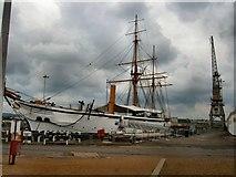 TQ7569 : HMS Gannet - Chatham Dockyard by Paul Gillett