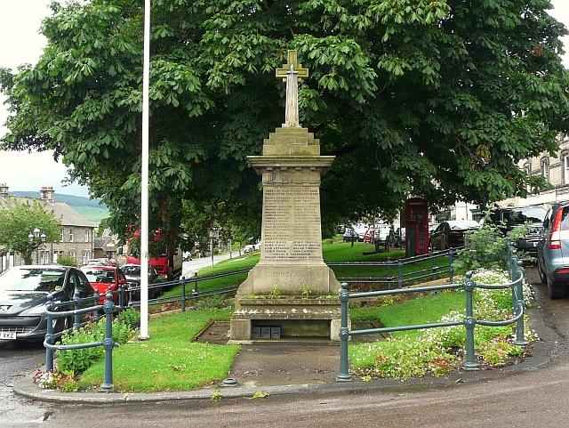 War Memorial, Rothbury
