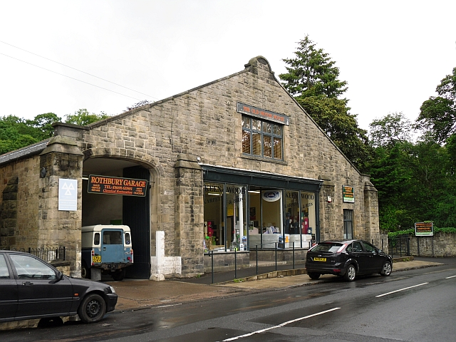 Old Motor House (Rothbury Garage)