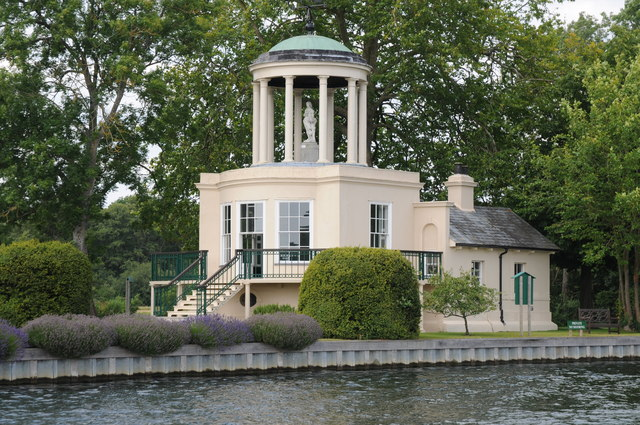 The Temple and Temple Island