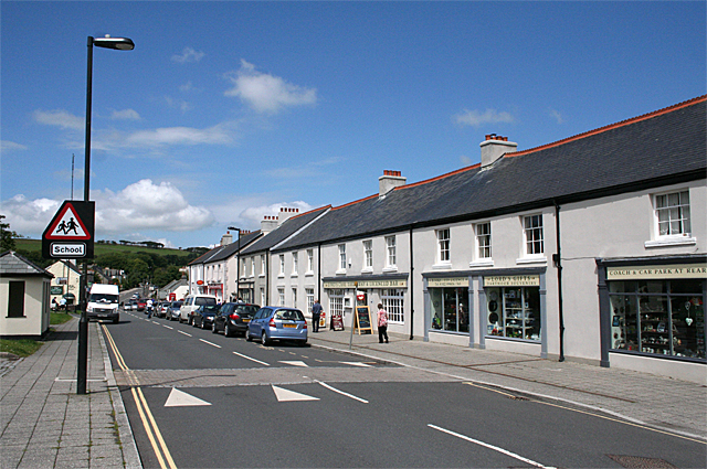 Dartmoor Forest: Tavistock Road, Princetown