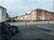 SU4212 : Bin strike in Southampton (b) by Basher Eyre