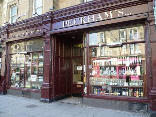 Peckham's in Bruntsfield Place