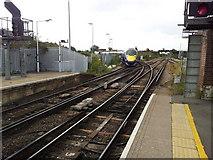 TQ7369 : Strood Station, Kent. by Paul Pollard