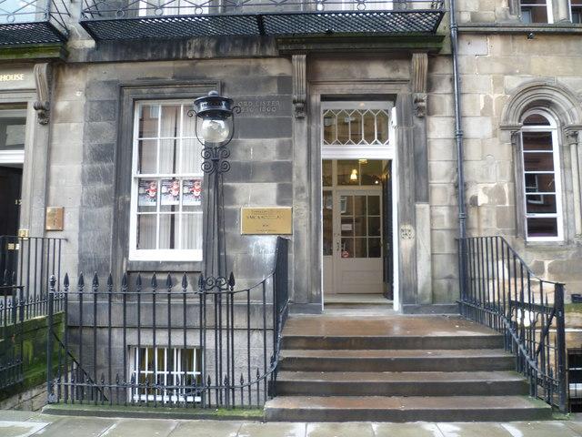 House of Joseph Lister, Rutland Street