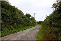SW9072 : Road to Trevisker Farm by Steve Daniels