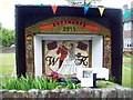SK3473 : Well Dressing in Cutthorpe by Jonathan Clitheroe