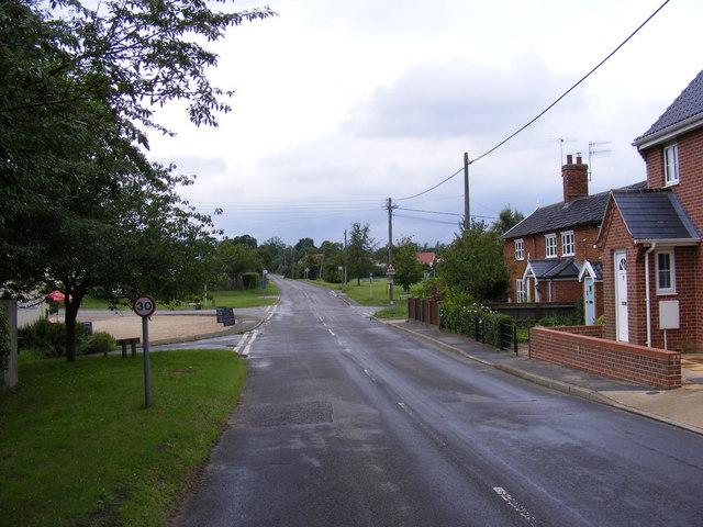 B1121 Aldeburgh Road, Friston