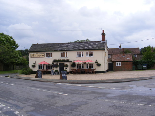 Old Chequers Public House, Friston