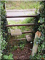 TM4160 : Stile of the footpath to Church Road by Adrian Cable