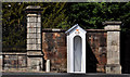J2458 : Sentry box, Hillsborough by Albert Bridge