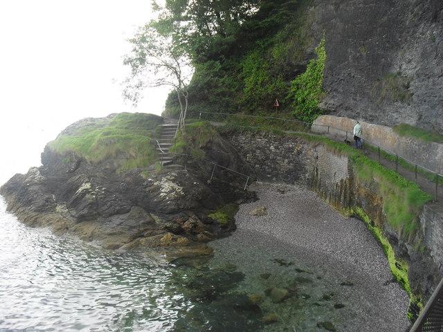 Part of the path from Oddicombe beach to Babbacombe beach