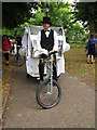 TQ3769 : Eco-taxi for a wedding by Stephen Craven