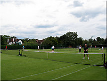 TQ3868 : Park Langley tennis courts by Stephen Craven