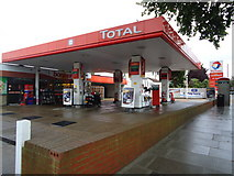 TQ1875 : Total petrol station, Sheen Road, Richmond by Stacey Harris