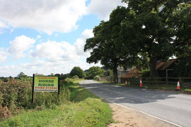Ongers Farm looking toward Upton