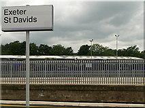 SX9193 : Exeter St Davids by Graham Horn