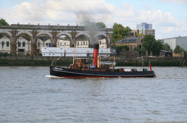 The River Thames from the Isle of Dogs