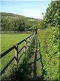 SE0026 : Hebden Royd Footpath 47 at Great Stubb, Mytholmroyd  by Humphrey Bolton