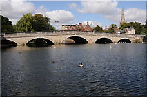 TL0549 : Bridge over the Great Ouse, Bedford by Philip Halling