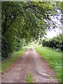 TM4259 : The entrance to Park Farm & Park House by Geographer