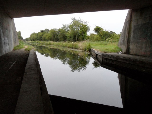 Grand Canal from under George's Bridge, Edenderry, Co. Offaly