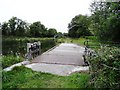 N5932 : Overflow on the Grand Canal at Cartland Bridge, near Edenderry, Co. Offaly by JP