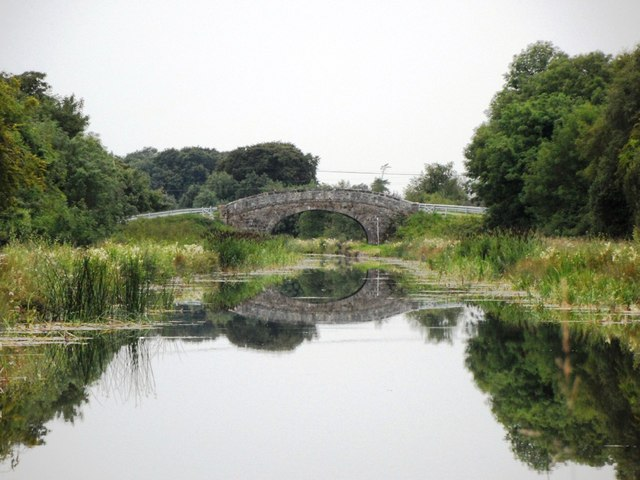 Rhode Bridge on the Grand Canal, near Rhode, Co. Offaly