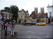 SE6052 : Bootham Bar, York by Jeremy Bolwell