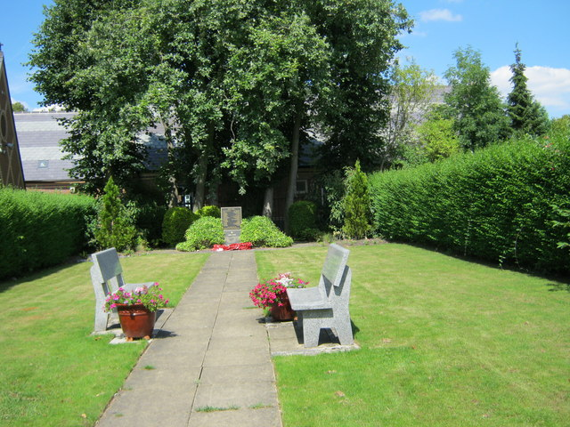 First and Second World War Memorial Garden in Barlborough