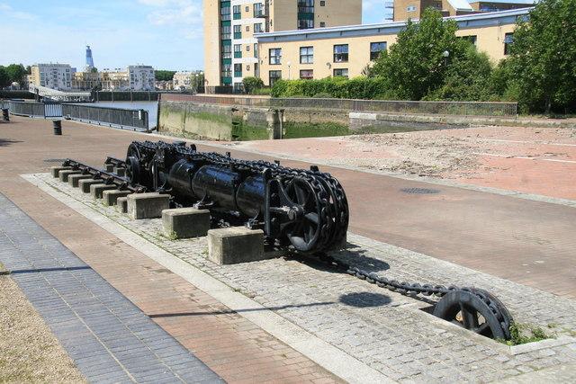 Former Millwall Docks entrance