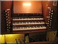 TQ8209 : Console of Father Willis Organ, All Saints' Church by Julian P Guffogg