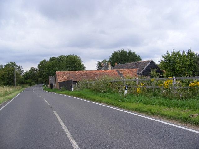 A1094 Aldeburgh Road & Rushmere Lodge Farm