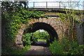 SD4665 : Railway bridge near Slyne by Ian Taylor