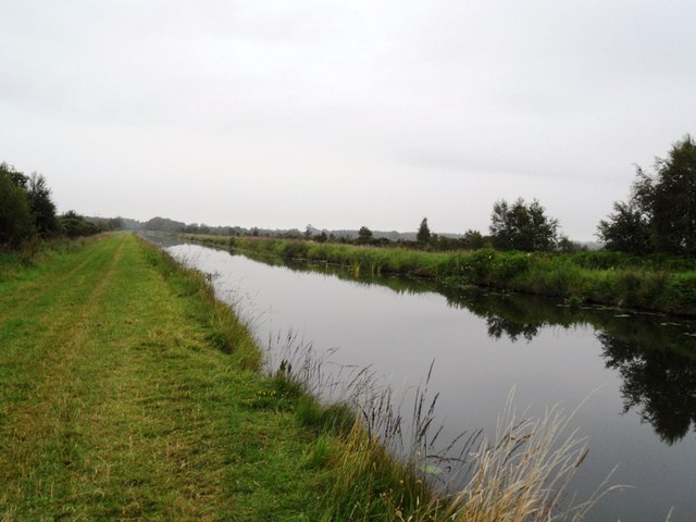 Grand Canal in Coole, Co. Offaly
