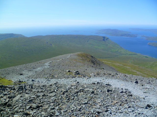 Footpath on Ben More