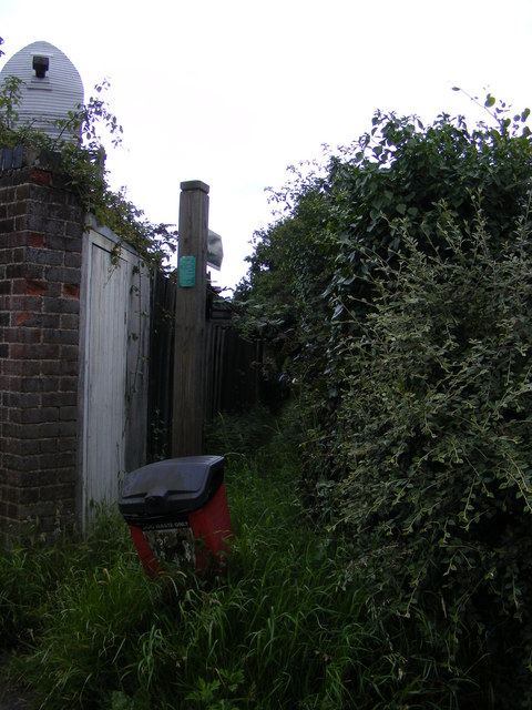 Footpath to Low Road & Chase's Lane