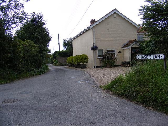 Chase's Lane, Friston